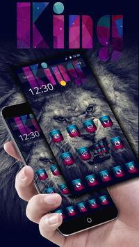 Lion king  theme lion themes apk screenshot