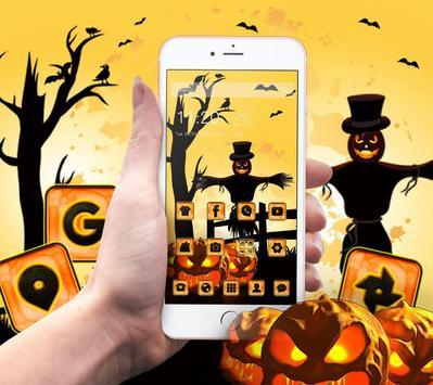 Halloween Pumpkin Theme apk screenshot