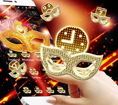 The Mysterious Mask Theme apk screenshot