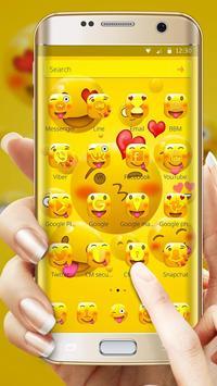 Emoji Happy Joyous Emoji Launcher Theme screenshot 1
