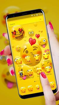 Emoji Happy Joyous Emoji Launcher Theme screenshot 3