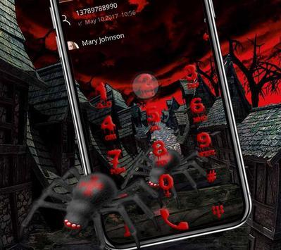Halloween graffiti horror ghost bloody theme screenshot 3