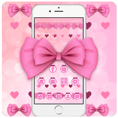 The Adorable Pink Bow Theme icon