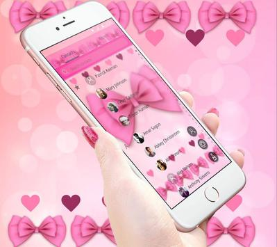 Adorable Pink Bow Theme screenshot 4