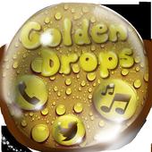 Golden Drop Theme icon