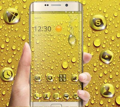 Golden Drop Theme screenshot 2