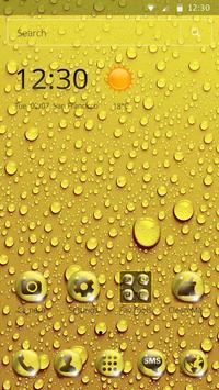 Golden Drop Theme screenshot 6
