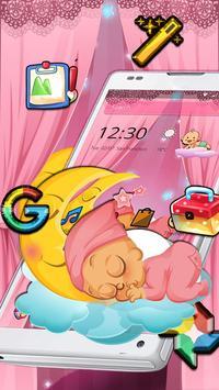 Pink Angel Baby Theme screenshot 3
