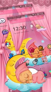 Pink Angel Baby Theme screenshot 4