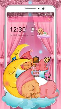 Pink Angel Baby Theme screenshot 5