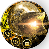Mysterious Golden Mask theme icon