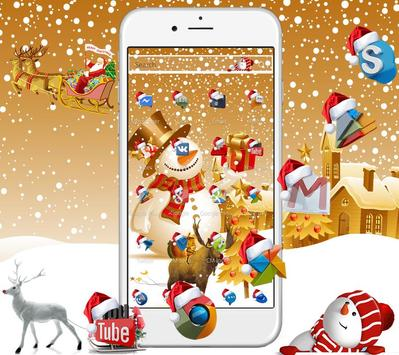 Christmas New Year Wallpaper Theme & Lock Screen screenshot 1
