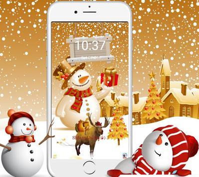 Christmas New Year Wallpaper Theme & Lock Screen screenshot 2