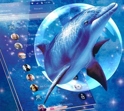 Blue Ocean And Dolphin Theme screenshot 3