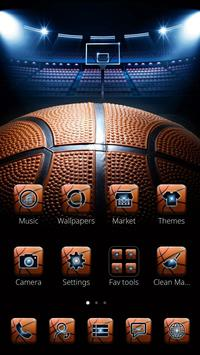 Basketball heme NBA theme poster
