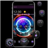 Cool Purple Dashboard Theme & Lock Screen icon