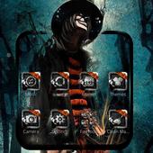 clown theme Hell killer themes Gunmen icon