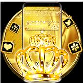 Golden Crown Diamond Theme icon