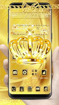 Golden Crown Diamond Theme poster