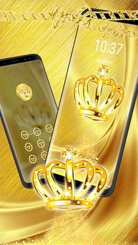 Golden Crown Diamond Theme apk screenshot