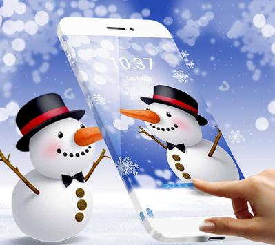 Snow Doll Theme apk screenshot