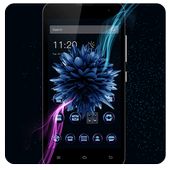 Cool Blue Flower theme icon