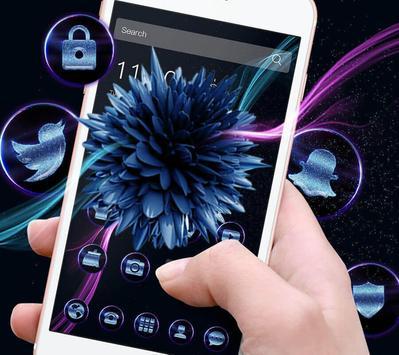 Cool blue flower screenshot 1
