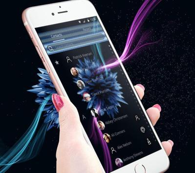 Cool blue flower screenshot 4