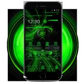 豪華炫酷綠色跑車主題 炫酷綠色跑車壁紙/桌布 icon