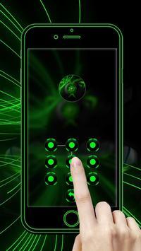 豪華炫酷綠色跑車主題 炫酷綠色跑車壁紙/桌布 screenshot 4