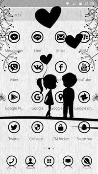 Shadow Love Theme apk screenshot