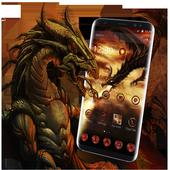 Fire Dragon Theme icon