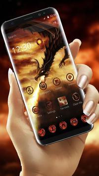 Fire Dragon Theme poster