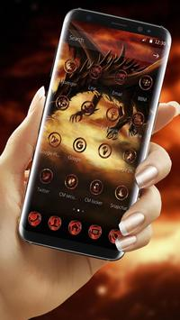 Fire Dragon Theme screenshot 1
