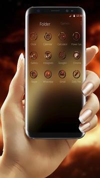 Fire Dragon Theme screenshot 2