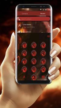 Fire Dragon Theme screenshot 3