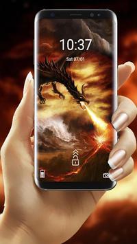 Fire Dragon Theme screenshot 4