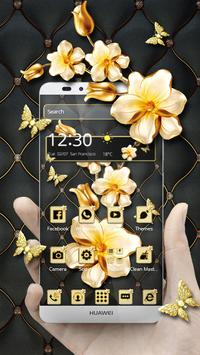 Elegant Gold Theme poster