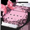 Black Pink Bow Theme