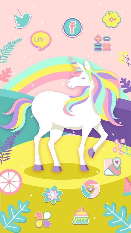 Cute Rainbow Unicorn Wallpapers - impremedia.net
