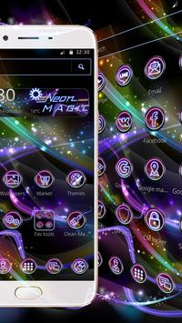 Neon Magic theme screenshot 1