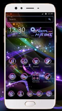 Neon Magic theme screenshot 3