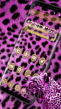 Pink Leopard Diamond Theme poster