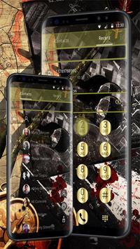 Camo Gun & Bullet Theme screenshot 1