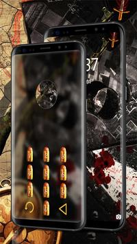 Camo Gun & Bullet Theme screenshot 3