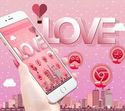 Pink romantic love screenshot 1