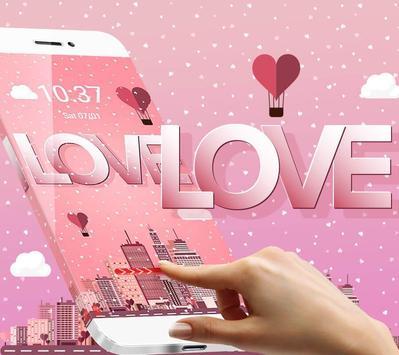 Pink Romantic Love Theme screenshot 3
