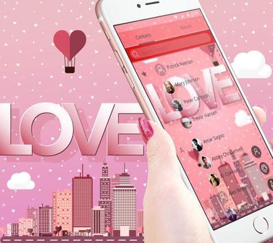 Pink romantic love screenshot 4