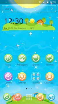 Beautiful Bubble World Theme screenshot 3