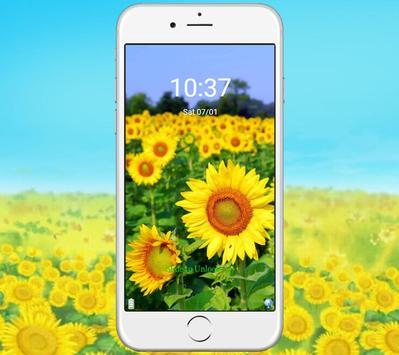 Green Sunshine Sunflower Theme screenshot 2